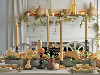 Thanksgiving decorating ideas domestic charm for Decoration ideas for thanksgiving dinner